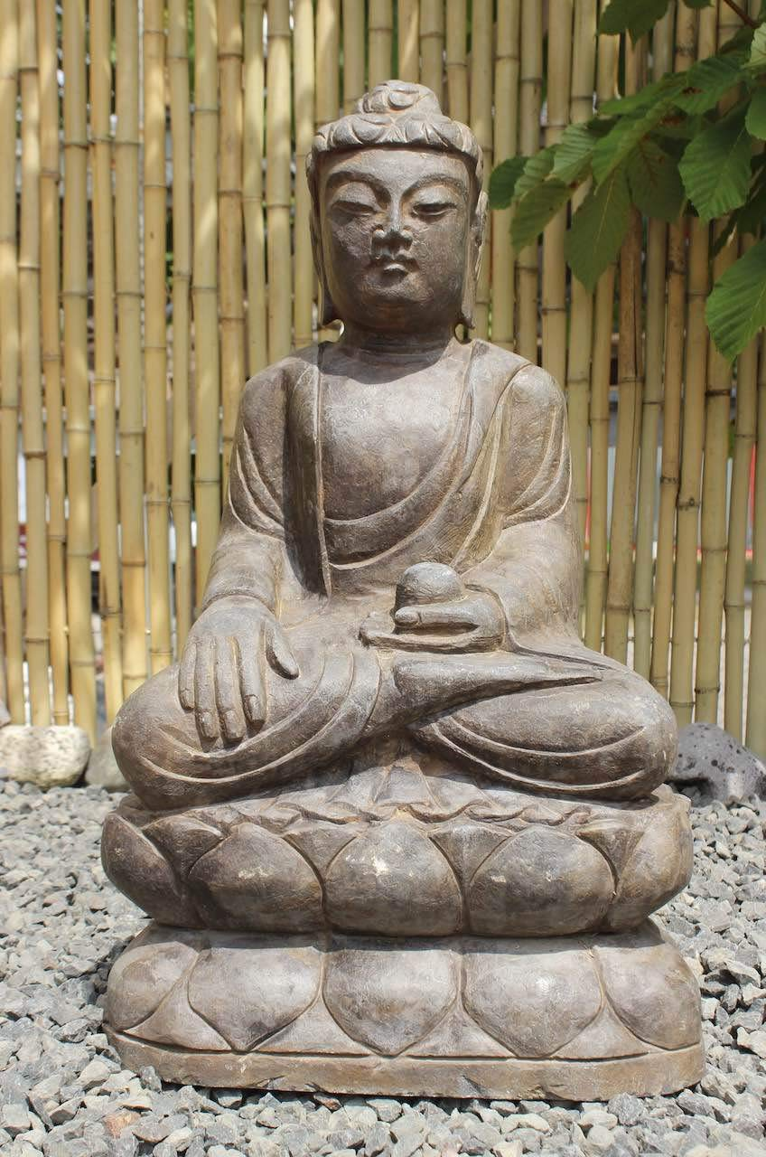 Asia Lifestyle Jardín Buda Figura 60 cm Siddharta Gautama Estatua: Amazon.es: Jardín