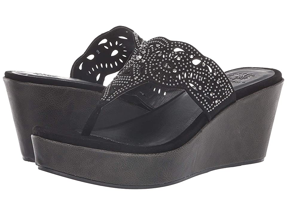 Yellow Box Kristabelle (Black) Girls Shoes