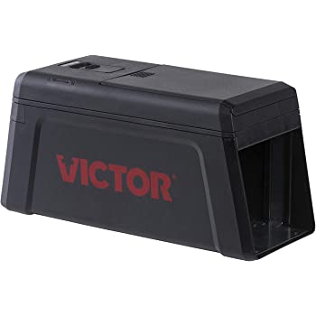 Victor M241 No Touch, No See Upgraded Indoor Electronic Rat Trap - 1 Trap,Black