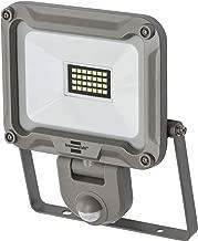 Brennenstuhl LED 室外射灯 JARO 2000P (适用于外部带运动探测器 用于壁挂安装 LED 泛光灯 20W 铝制 IP44) 银色