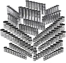 Craftsman 176 Piece Easy Read Socket Set, 6 and 12 Point, 1/4, 3/8 and 1/2 Inch Drives