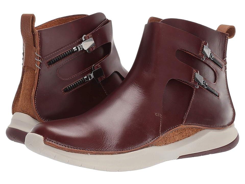 Clarks Privolution M2 (Mahogany Leather) Men