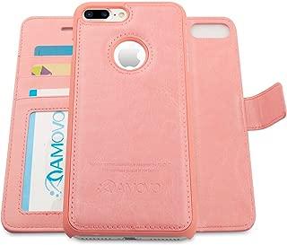AMOVO Case for iPhone 7 Plus [2 in 1], iPhone 7 Plus Wallet Case [Detachable Wallet Folio] [Premium Vegan Leather] iPhone 8 Plus Wallet Case (iPhone 7 Plus&8 Plus (5.5