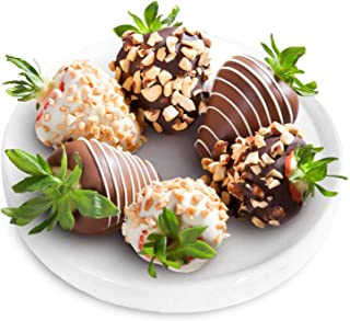 Nuts About Chocolate Covered Strawberries - 6 Berries