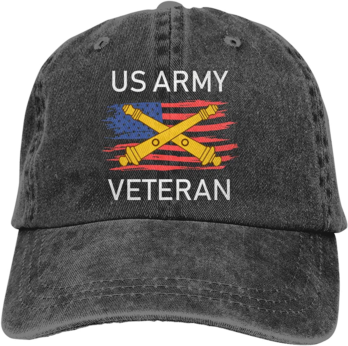 Max 58% OFF US Army Field Artillery Veteran A surprise price is realized Adjustable Denim Bas Vintage Hat
