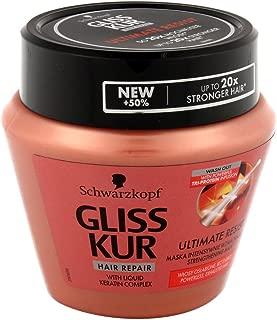 Schwarzkopf Gliss Kur Express Ultimate Resist Repair Damaged Hair Mask 300ml