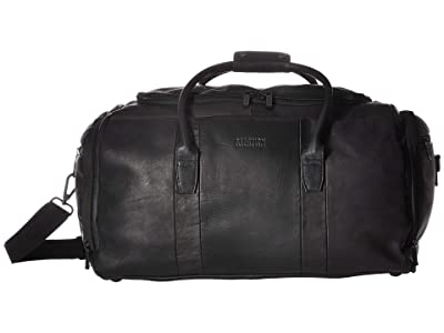 Kenneth Cole Reaction Colombian Leather Duffel (Black) Luggage