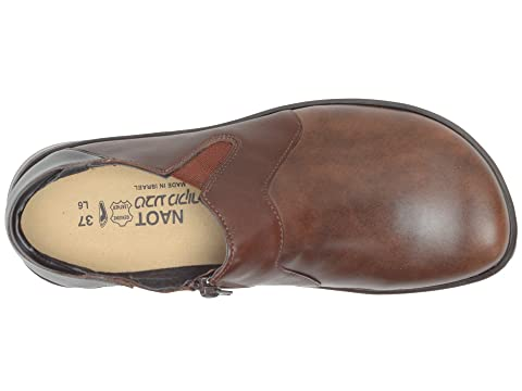 Pecan Brown French Toffee Lenok Brown Leather Leather Leather Roast Naot HCFq5wfnXx