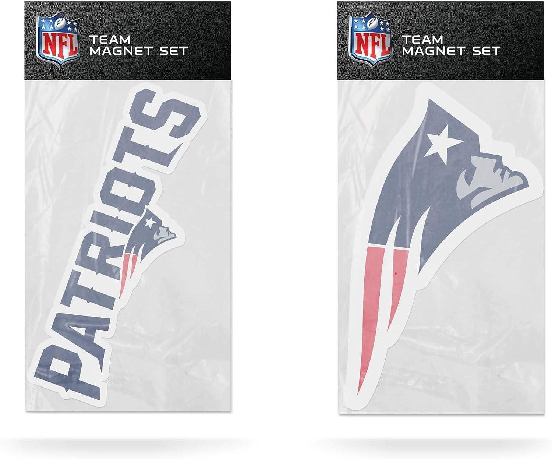 NFL Direct store New England Patriots 2-Pack Die Magnet Team Set Logo Albuquerque Mall Cut