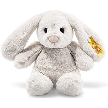 Steiff 80463 Hoppie Hase, hellgrau, 18 cm