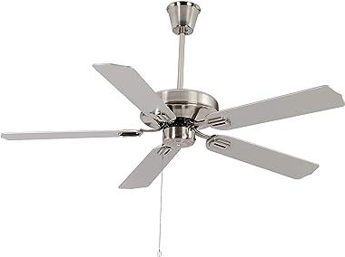 Windkraft Hilton 52 Inches Five Blade Ceiling Fan (Metalic Steel)