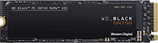Western Digital 西部数据 黑色 SN750 1TB NVMe 内置游戏固态硬盘 - Gen3 PCIe, M.2 2280, 3D NAND -WDS100T3X0C