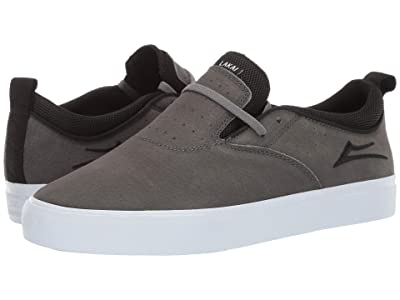 Lakai Riley 2 (Charcoal Synthetic Nubuck) Men