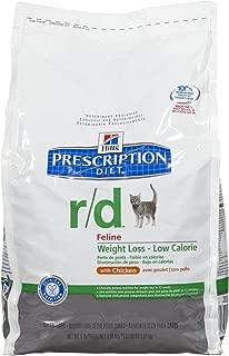 HILL'S PRESCRIPTION DIET r/d Feline Weight Loss - Low Calorie Chicken Formula - 4lb