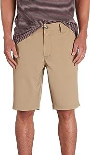 "VOLCOM mens Volcom Men's in SNT Dry 21"" Hybrid Short Casual Shorts"