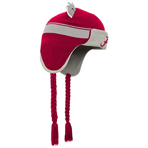 Top of the World Alabama Crimson Tide Official NCAA Cuffed Knit Upland Stocking Stretch Sock Hat Cap Beanie 464558