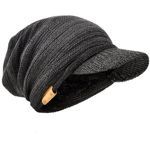 6ef83aa8dc3cc Men Oversize Skull Slouch Beanie Large Skullcap Knit Hat