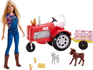 Best barbie doll and tractor Reviews