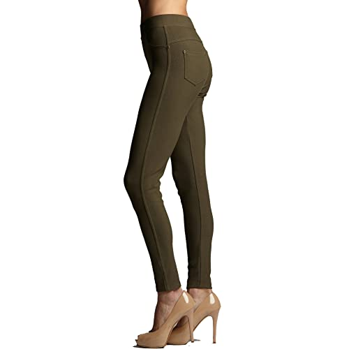 b0ccd645cfa52 Premium Jeggings - Denim Leggings - Full and Capri Length - Regular and  Plus Sizes