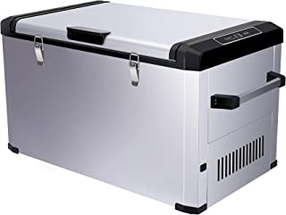 CIGREEN 63.4 Quart (60 Liter) Portable Refrigerator, Compressor Electric Powered Portable Cooler, Fridge/Freezer for Camping, Travelling, Outdoor and Home Use -12/24V DC and 110-240 AC, DC-60F