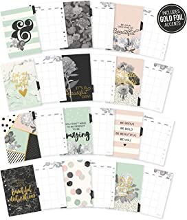 Carpe Diem by Simple Stories A5 Beautiful Monthly Planner Inserts