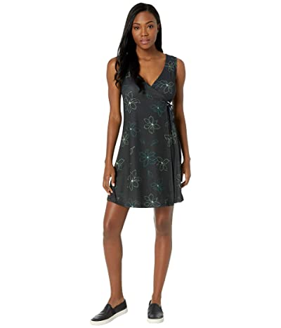 FIG Clothing Don Dress (Black Magnolia) Women