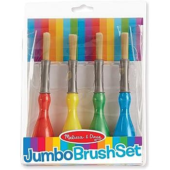 Melissa & Doug Jumbo Paint Brushes (set of 4)