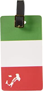 Graphics & More Italy Home Country Luggage Suitcase Id Tags-Flag, White