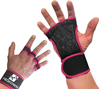 ProFitness Cross Training Gloves Non-Slip Palm Silicone Weight Lifting Glove to Avoid..