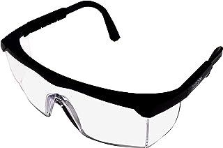 HQRP پاک کردن رنگ UV محافظ ایمنی عینک / عینک برای کار باغ، باغبانی، کاشت چمن، نجوا کردن علف های هرز، پیرایش حشره + HQRP UV Meter