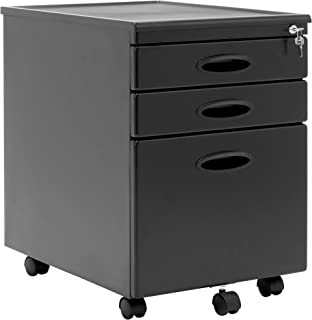 Calico Designs File Cabinet in Black