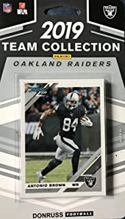 Oakland Raiders 2019 Donruss Factory Sealed 12 Card Team Set with Clelin Ferrell Rookie and Josh Jacobs and Hunter Renfro Rated Rookies Plus 9 Other Players