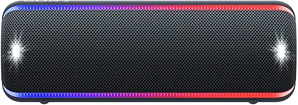Sony SRS-XB32 Extra Bass Portable Bluetooth Speaker, Black (SRS-XB32/B)