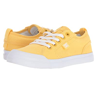 DC Kids Evan TX (Little Kid/Big Kid) (Yellow) Girls Shoes