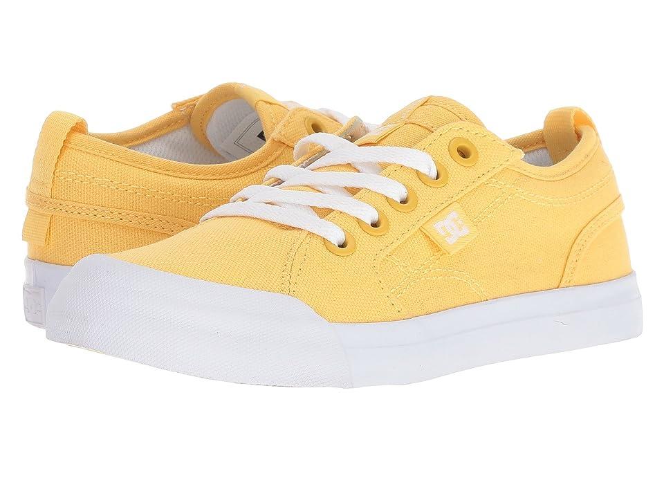 DC Kids Evan TX (Little Kid/Big Kid) (Yellow) Girls Shoes