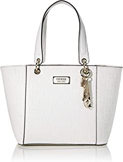 Guess Kamryn, Bolso tipo tote para Mujer, negro, 15x27x42 Centimeters (W x H x L)