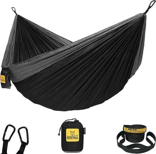 A travel hammock