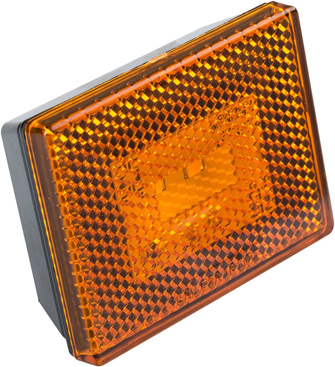 Lumitronics Reflector LED Marker Light w Stud MountAmber LensClearly Mark Your RV, Camper, Trailer or 5th Wheel with an Easy to Install Marker