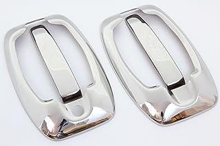 ASTRA K AB 2015 cromato Pannello Porta manopole in acciaio inox set nuovo