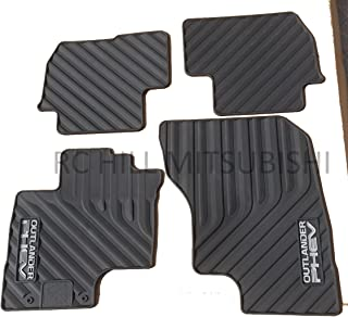 Mitsubishi in Stock! 2018 Genuine Outlander PHEV All Weather Rubber MATS Floor MZ314940