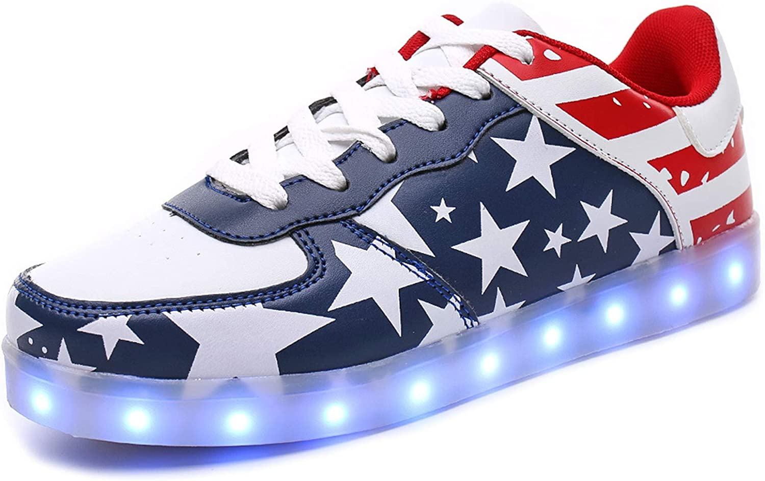 IGxx LED Shoes for Men USA 35% Ranking TOP8 OFF Sneakers Recharging USB Star Ligh