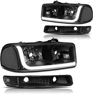 Best gmc sierra tinted headlights Reviews