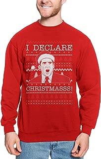 I Declare Christmas! - Michael Scott Ugly Xmas Unisex Crewneck Sweatshirt