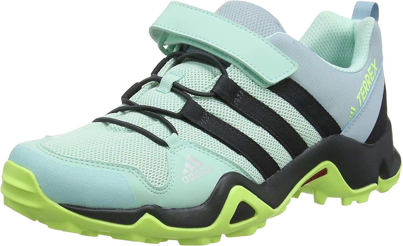 Adidas Unisex-Kinder Terrex Ax2r Cf K Fitnessschuhe, grün, 31.5 EU