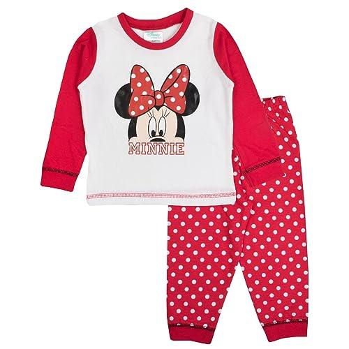 332205e25 Disney Minnie Mouse Bow Baby Girls Pyjamas