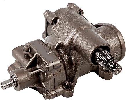 Detroit Axle - Complete Power Steering Gear Box Assembly [33-Spline Selector Shaft] - for Chevrolet Silverado, GMC Sierra, Hummer H2 Trucks