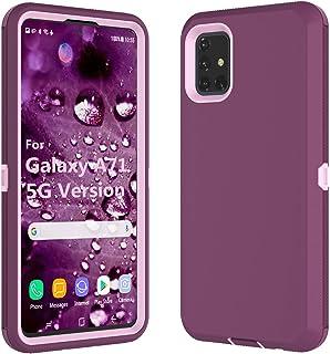 Galaxy A71 5G Case, for Samsung Galaxy A71 5G Case, Thybx [Drop Protection] Full Body Shock Dust Absorbing Grip Plastic Bu...