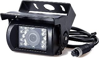 Upgrade Backup Camera Truck Rearview Reversing Parking Camera Full Metal 175 ° Perfect Video Backup Camera Heavy Duty 18 LED Infrared Night Vision Waterproof Car Rear Camera 9-35V DVKNM
