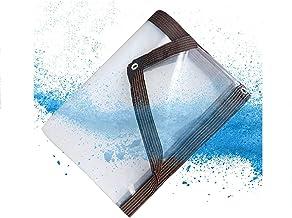 Waterdichte doek, transparant waterdicht voor tuinen, terrassen, kassen en kennels,1×1M