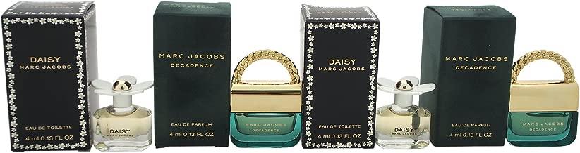 Marc Jacobs Fragrances Variety - perfumes for women, 4 Pc Mini Set